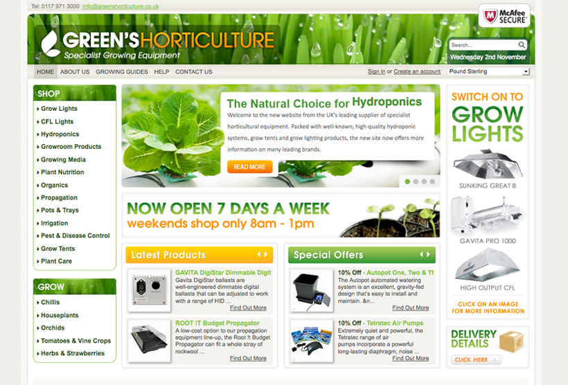 Green's Horticulture Image