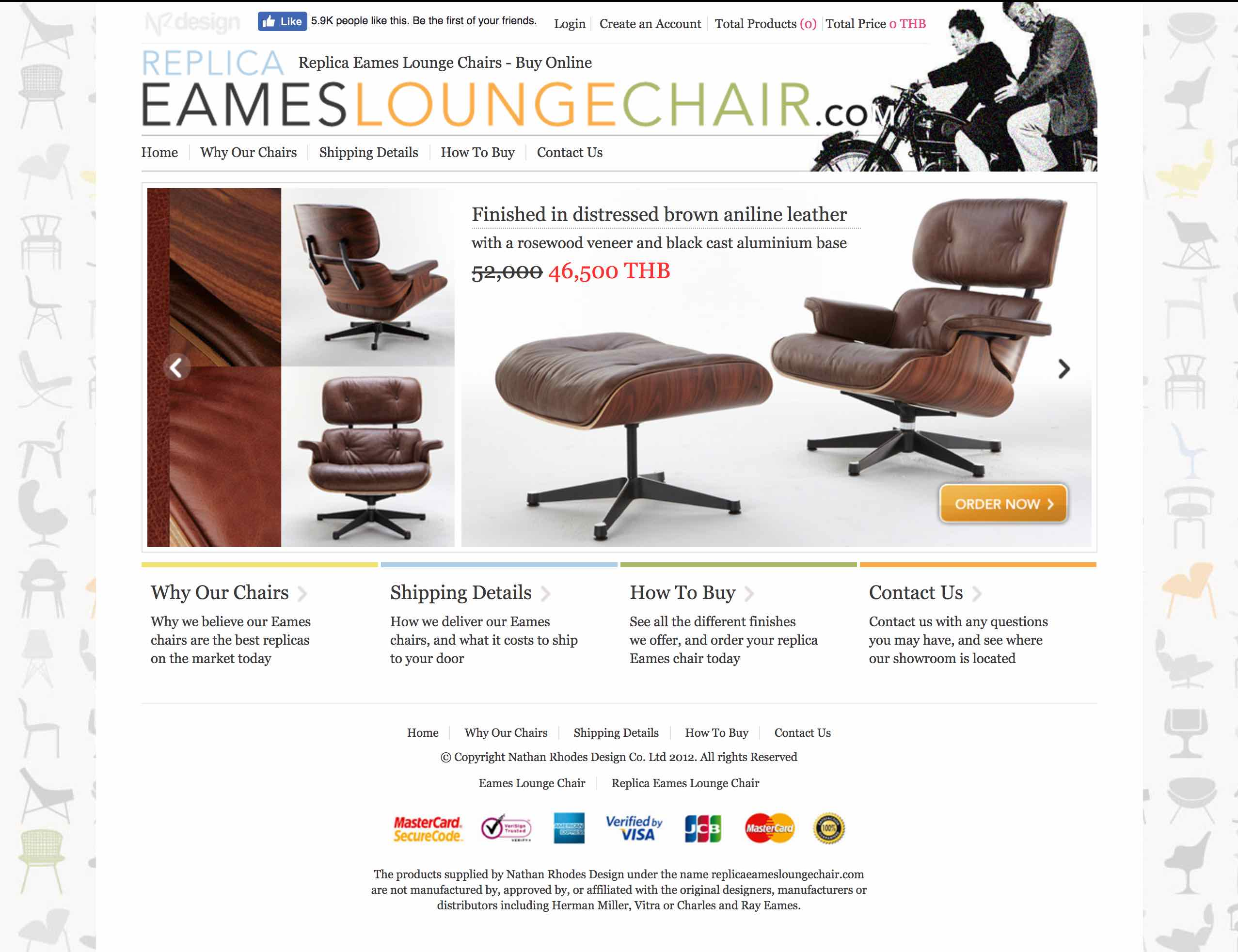 Eames Lounge Chair Image